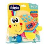Chicco Molly teknős textil csörgő-rágóka 3h +